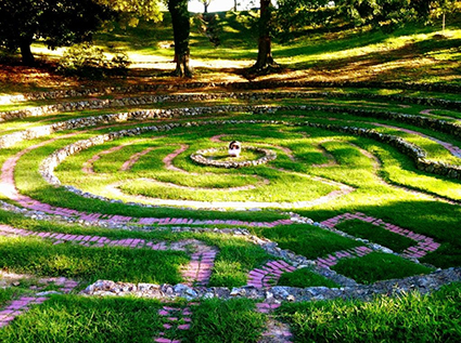 The labyrinth of Rome Georgia