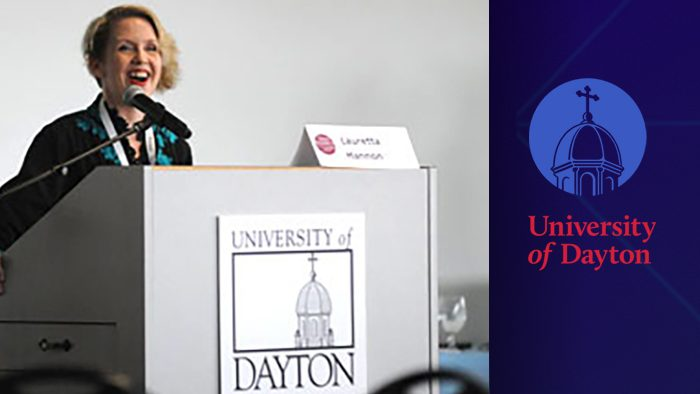 podium-at-university-of-dayton